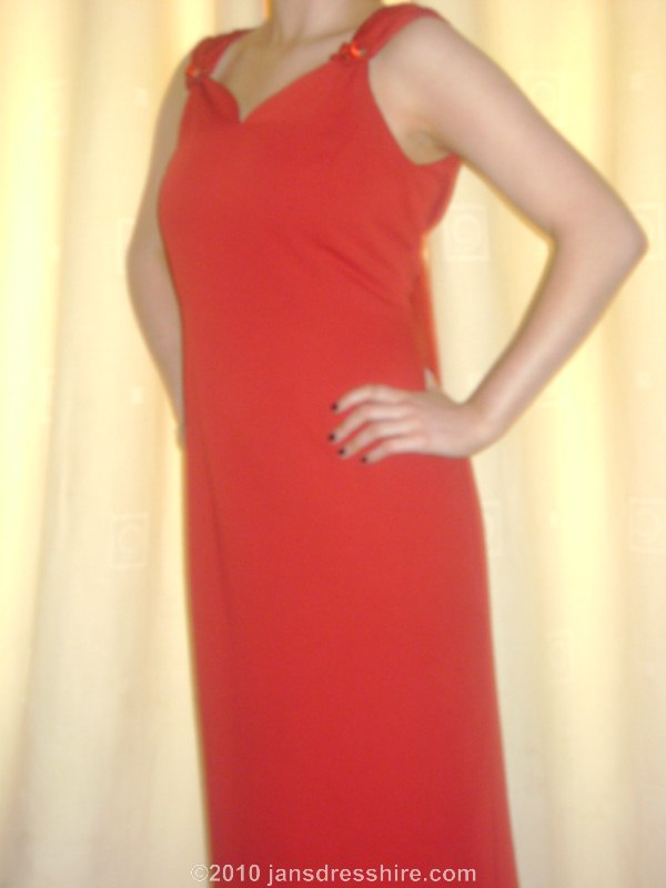 Red Dress - Size 14 - 55JO